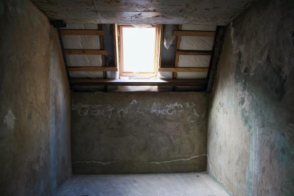 Grungy interior