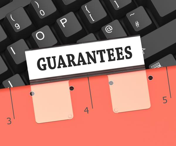 Guarantees File Means Product Certificate 3d Rendering