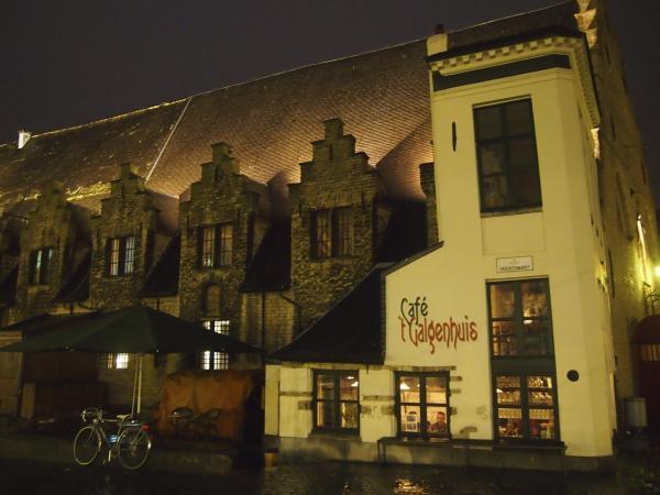 Historic Bar in Ghent, Belgium