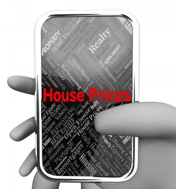 House Prices Indicates Web Site And Charge