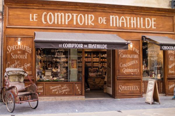 Le Comptoir De Mathilde Store Signage