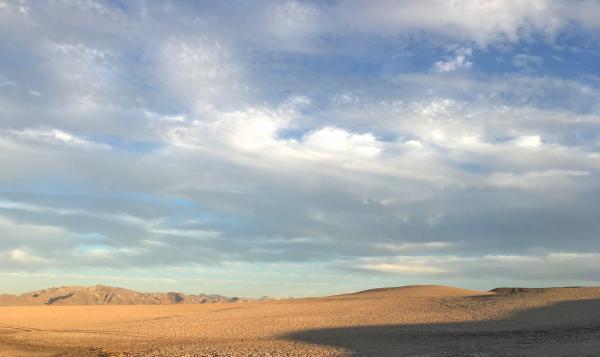 Morning Over Desert