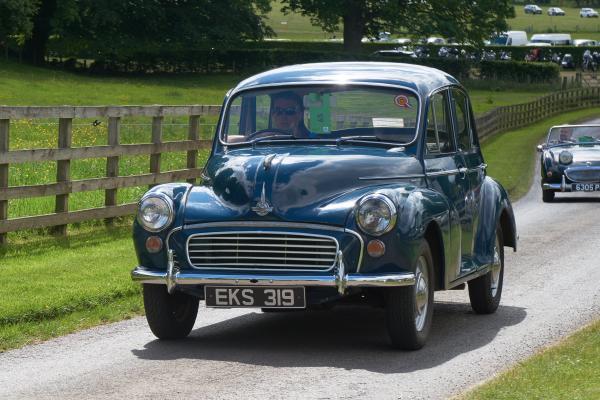 Morris Minor 1000 4 door, Austin Healy 'bugeye' Sprite Mk I