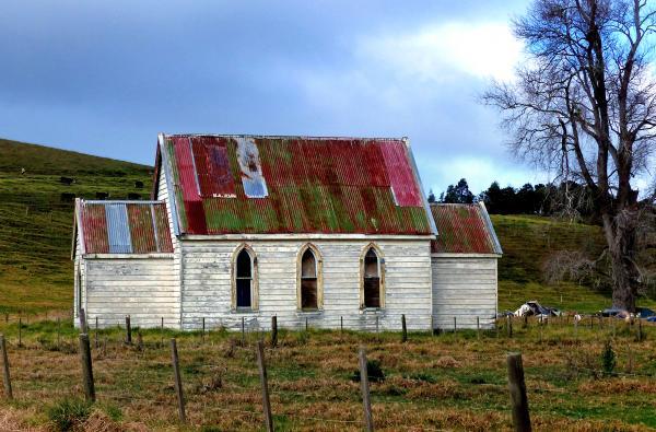 Old church, Otuhianga Road, Matakohe, NZ