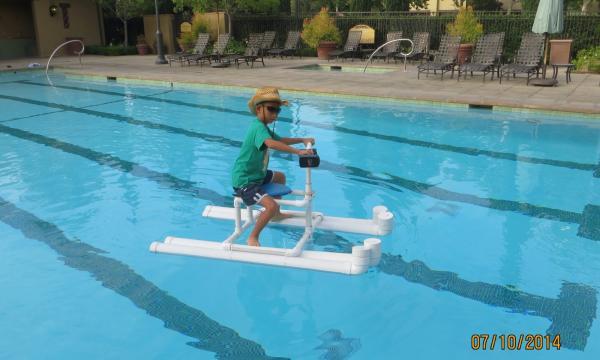 Pool plumbing project