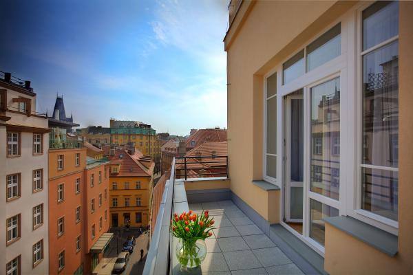 Prague Balcony