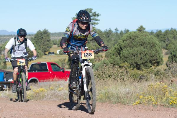 Rider 34 and Rider 128 Fire On The Rim 2016