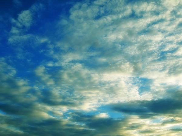 Sky & Blue Clouds