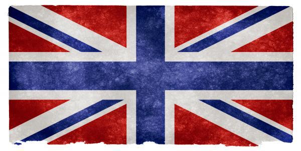 UK Grunge Flag - Inverted