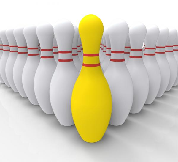 Vision Bowling Skittles Shows Achieving
